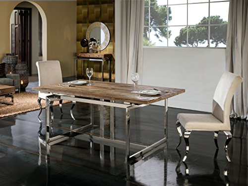 Schuller Milenia Table de salle à manger moderne 180 x 100 cm