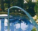 Astralpool Cañón de agua vertical simple de acero AISI 316–Juegos de agua a cascada–19969