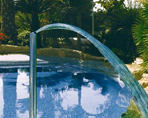 Astralpool Cañón de agua vertical simple de acero AISI 316–Juegos de agua a...