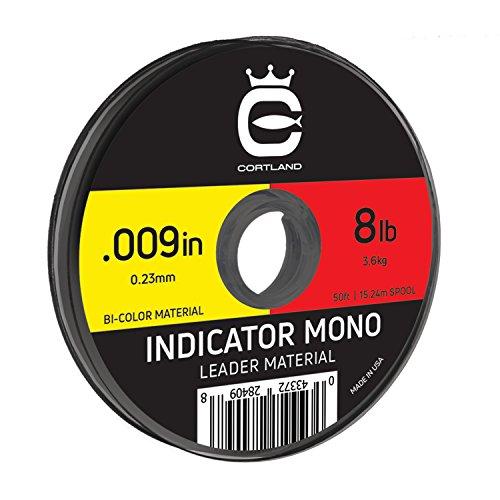 Cortland Indicator Mono (Yellow/Red.013 / 12.4 LB)