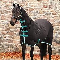 Horseware Amigo オールインワン ジャージ クーラー ブラック/ティール/チェリー 75