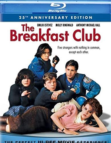 The Breakfast Club 25th Anniversary Edition Bluray by Universal Studios