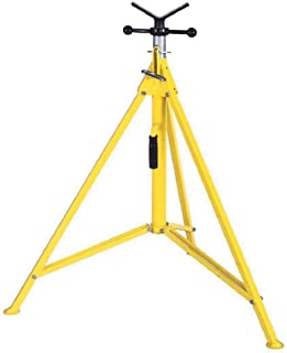 """Sumner Manufacturing 783250 Hi Boy Jack Stand with Vee Head, 39"""" to 72"""" Adjustable Height, 1,000 lb. Capacity"""