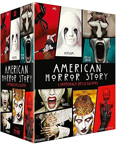 Coffret intégrale american horror story, saisons 1 à 8