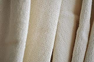 Organic Cotton French Terry Fabric - Natural - By the Yard