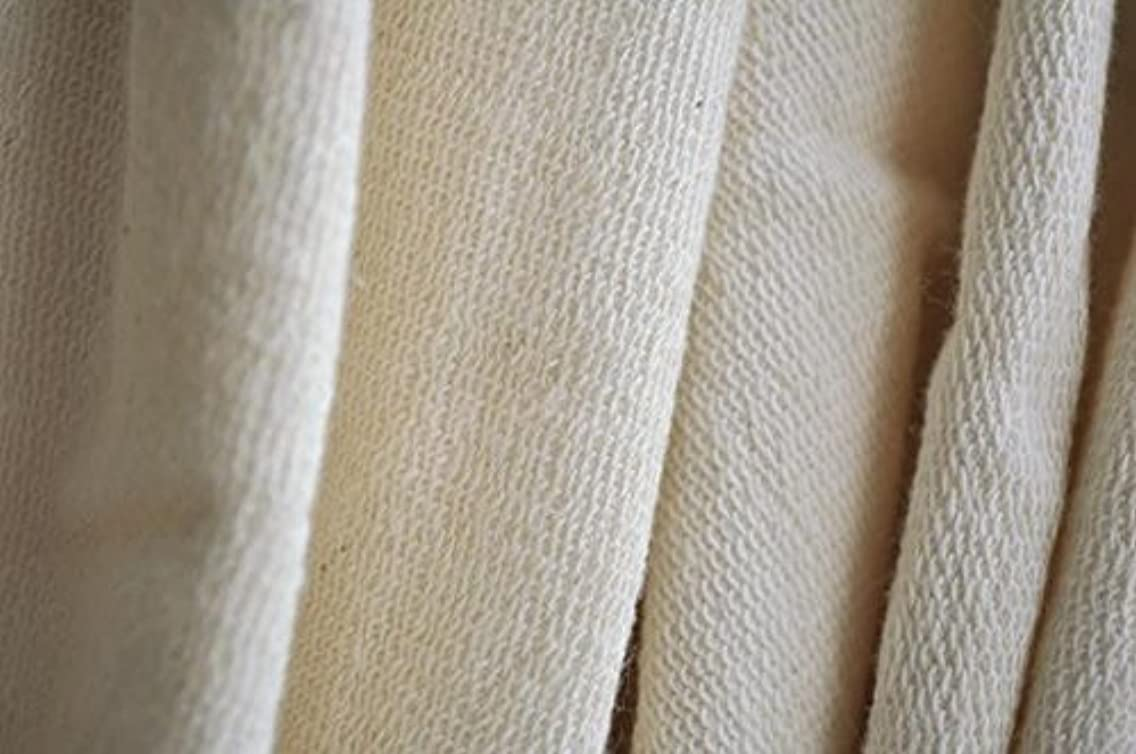 Organic Cotton French Terry Fabric - Natural - 5 Yards