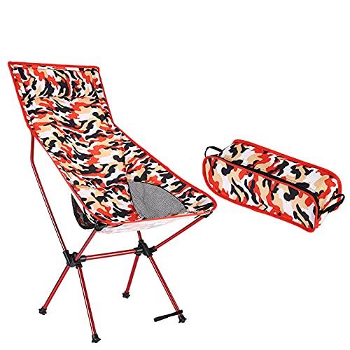 LWZ Silla Plegable de Camuflaje sillón Multifuncional, Tumbona Plegable, sillón de Picnic al Aire Libre, Plegable al Aire Libre, Senderismo en la Playa y Pesca,1