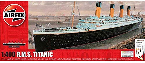 Airfix A50146A 1/400 Small Gift Set - RMS Titanic Modellbausatz, Sortiert, 1: 400 Scale
