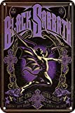 Hunnry Black Sabbath Poster Metall Blechschilder Retro