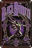 Forry Black Sabbath Metall Poster Retro Blechschilder