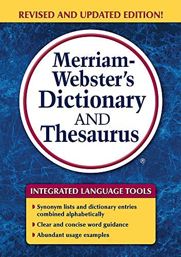 [[Merriam-Webster's Dictionary and Thesaurus]] [By: Merriam-Webster Inc.] [May, 2014]