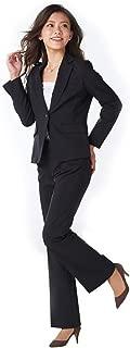 [nissen(ニッセン)] 洗えてロングシーズン活躍♪お得な2パンツセットスーツ(股下72cm) レディース