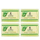 Khadi Aloevera Soap 125 gm (Pack of 3) by Parvati Gramodyog Herbal Products - Made in India