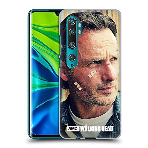 Head Case Designs Offizielle AMC The Walking Dead Schnitte Und Bandagen Rick Grimes Harte Rueckseiten Huelle kompatibel mit Mi CC9 Pro/Mi Note 10 / Pro