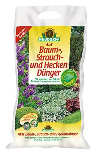 NEUDORFF Baum-, Strauch- und Heckendünger, 5 kg