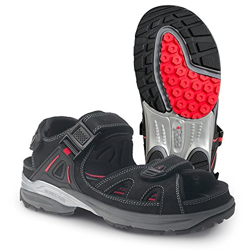 Ejendals 2552-40 Sandale Jalas 2552 Cool Sport Taille 40, noir/rouge