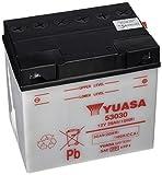 Yuasa 53030 -Y- - Batería abierto sin ácido para moto