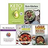 Keto Diet, Keto Kitchen, No Alzheimer's Smarter Brain Keto Solution, The Keto Crock Pot Cookbook For Beginners, The Keto Diet for Beginners 5 Books Collection Set