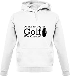 On The 8th Day Golf was Created - Unisex Hoodie/Hooded Top