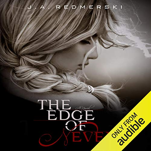 The Edge of Never audiobook cover art