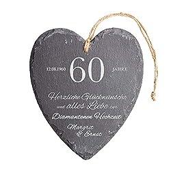 Diamantene Hochzeit Geschenk
