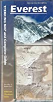 Everest: Trekking Map & Complete Guide (Milestone Himalayan Series)