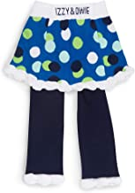 Izzy and Owie Baby Girls' Skirted Leggings, Blue, one Size