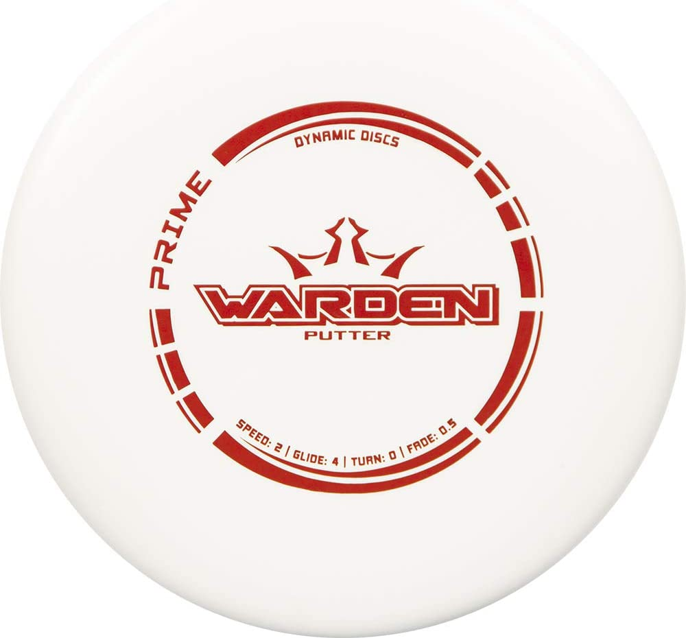 Dynamic Discs Prime Max 70% OFF Warden Disc Plus Putter Max 54% OFF Golf 170g Throwi