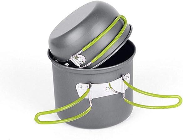 Cocina Camping Kit Utensilios ultraligero Cookware que acampa ...