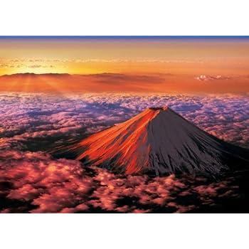 3000ピース ジグソーパズル 究極 パズルの達人 赤富士 スモールピース(73x102cm)