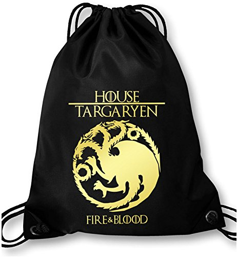 EZYshirt®  Game of thrones   House Targaryen   GOT   Turnbeutel