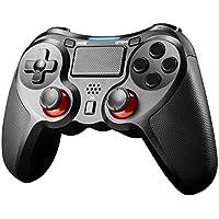JAMSWALL Mando Inalámbrico para PS4, Gamepad Wireless Bluetooth Controlador Controller Joystick con Doble Vibracion/Puerto de Audio Compatible con PS4/ PC (Windows XP/7/8/8.1/10)