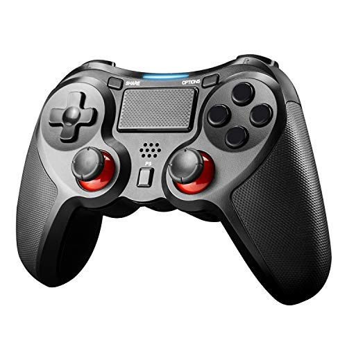 JAMSWALL Controller Wireless per PS4, Controller di Wireless Bluetooth, Controller di Gioco Senza Fili con Joypad del Dualshock per PS4 Slim/PRO And PC(Windows 7/8/8.1/10