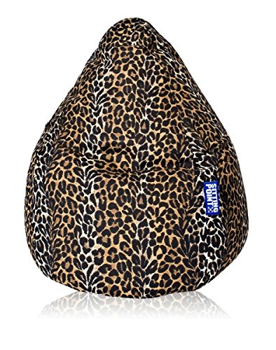 SITTING POINT only by MAGMA Sitzsack Afro XXL ca. 300 Liter (Leopard)