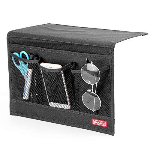 HAKACC Bedside Caddy/Bedside Storage Organizer,Remote Control Holder...