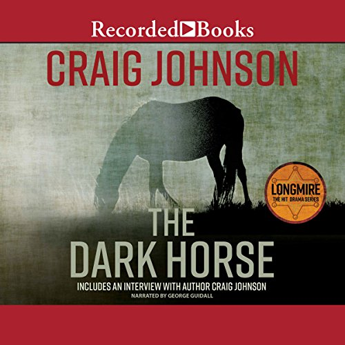 The Dark Horse audiobook cover art
