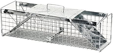 Havahart 1030 Live Animal Two-Door Rabbit, Squirrel, Skunk, and Mink Cage Trap