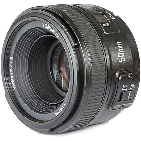 YONGNUO YN50mm F1.8N Standard Prime Lens Large Aperture Auto Manual Focus AF MF for Nikon DSLR Cameras