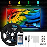 LED Strip Lights Waterproof Changing Color with USB Battery Power Supply