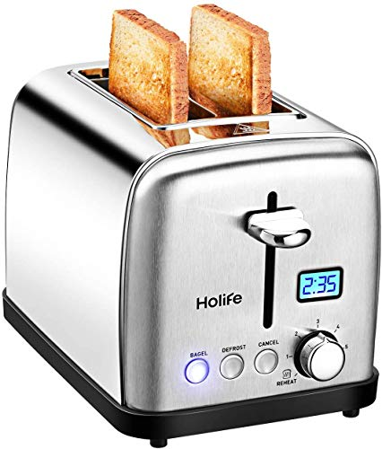 Image of HoLife Toaster, 2 Slice...: Bestviewsreviews