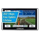 Dispositivi di Navigazione per Camion per auto Dispositivo di Navigazione CARRVAS Promemoria Vocale Preinstallazione da 7 Pollici Regno Unito e UE 2020 Mappe