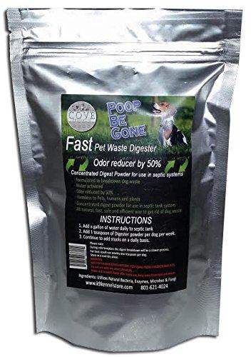 Cove Products Poop Be Gone Dog Waste Eliminator Powder