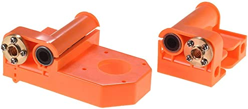 3D Printer X-Axis End Orange Plastic Injection Parts with M8 Screws for A8/ P802 Prusa i3 Parts