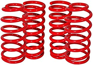 Fit 2013-2017 Scion FRS/Subaru BRZ Suspension Lowering Spring Red (Front 2