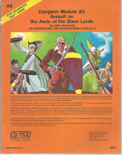 Assault on the Aerie of the Slave Lords (Advanced Dungeon Module A3)