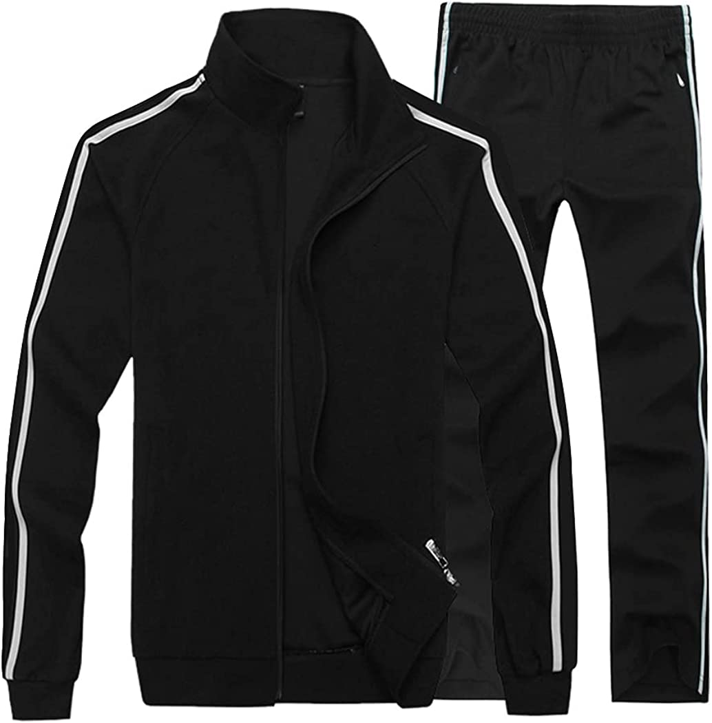 Sun Lorence Men's Casual Sale Special Price Sweat Suit Tracksuit J Ranking TOP9 Zip for Full Set