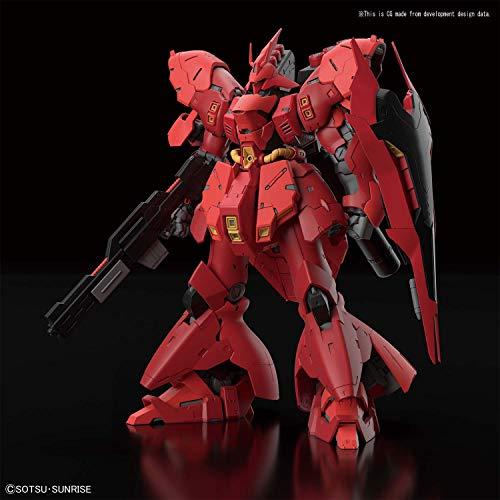 Bandai Hobby BAN230363 RG 1/144#29 Sazabi Char's Gegenangriff, rot