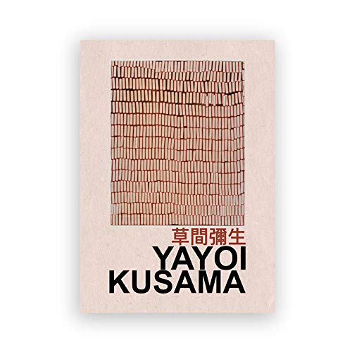 YWOHP Exposición de Artistas japoneses Carteles e Impresiones infinitos Puntos Arte Abstracto Pintura Lienzo galería decoración de la Pared 40x50_cm_No_Frame_PC3555