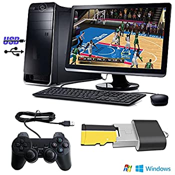 Retro PSP Games 55in1 SPG Tensna PC Video Games Play on Android or PC Classical Arcade Game 64G SD Card With One Gamepad