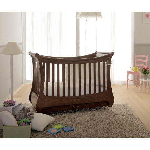Babybett Kinderbett aus Holz Paola Dominguin Micuna Bianco KEINE MATRATZE